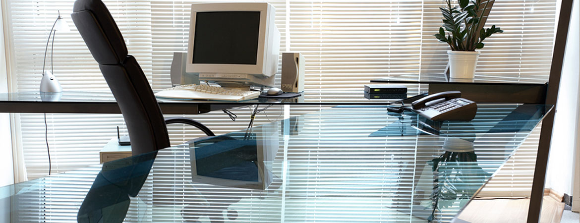 Glass Desk Tops and Table Tops